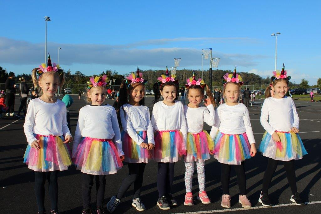 Future Ferns steal the show at the Netball Courts this morning.
