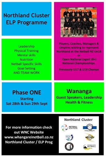 Northland  Cluster Emerging & Leadership Program (ELP) 2019 - 2020